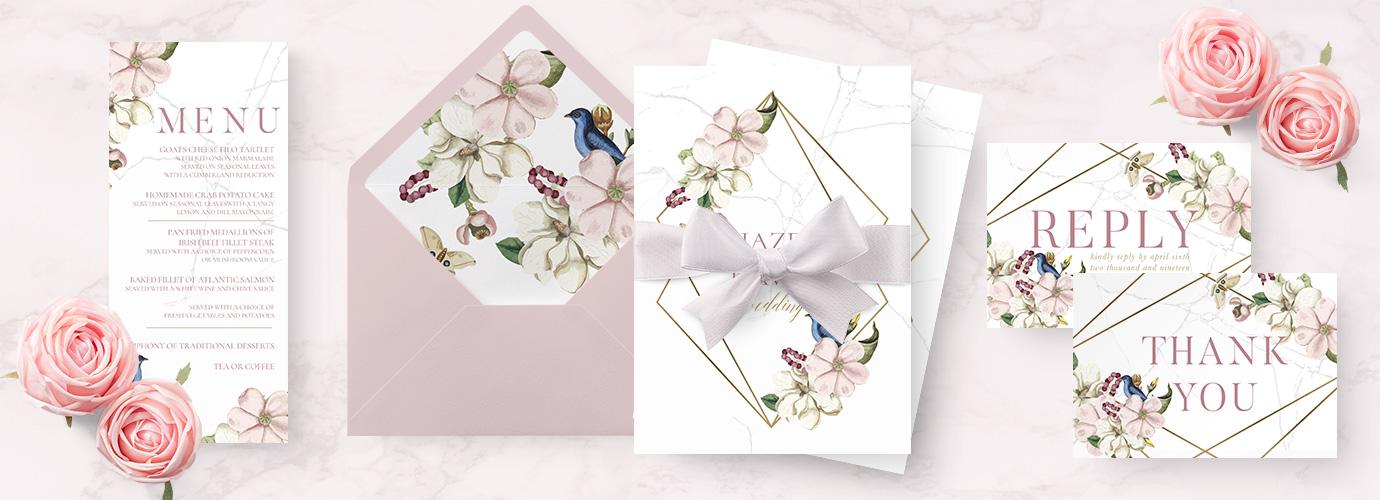 Wedding Stationery - Wedding Invitations - Mass Booklets - The