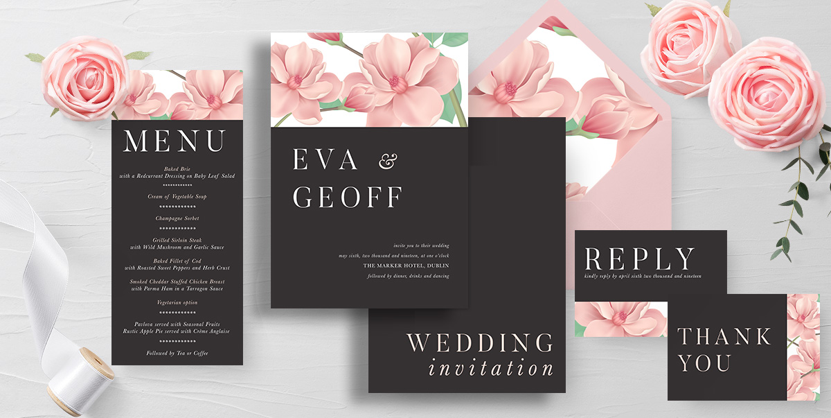 Wedding Stationery - Wedding Invitations - Mass Booklets - The