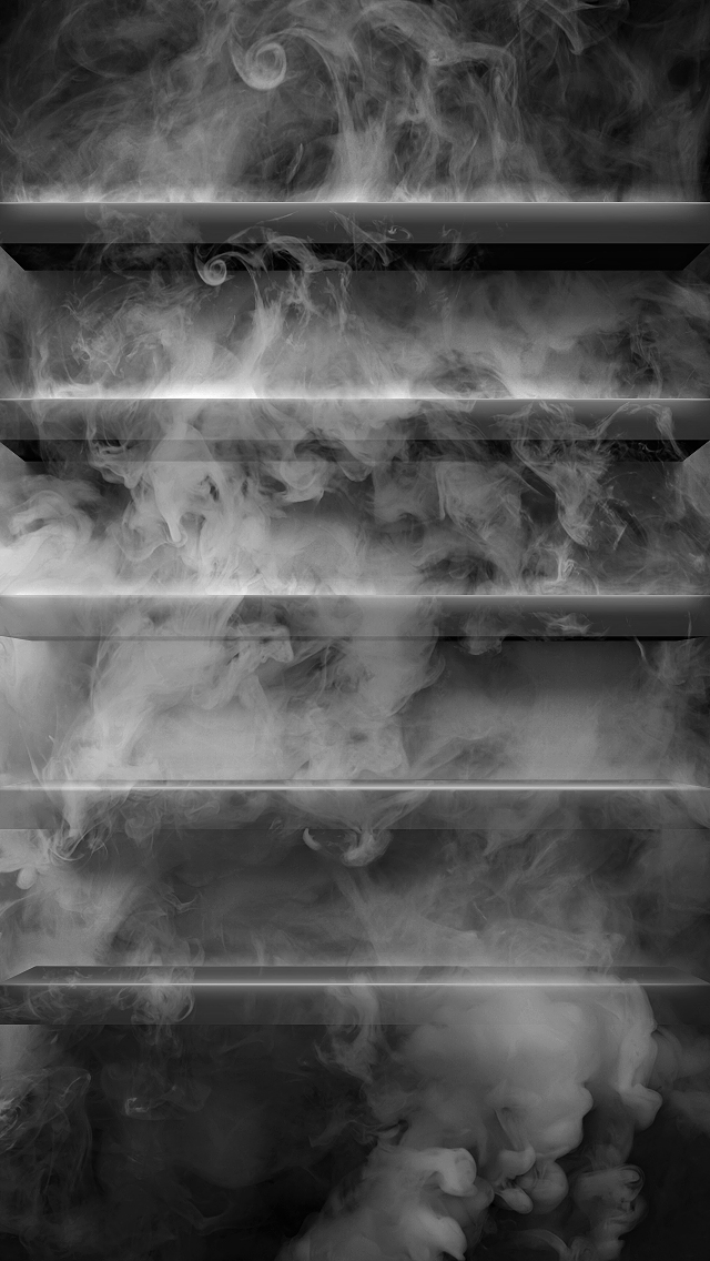 3d Shelves Wallpaper Smoke Shelves The Iphone Wallpapers