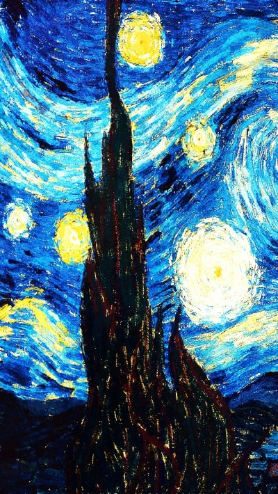 Starry Night - The iPhone Wallpapers