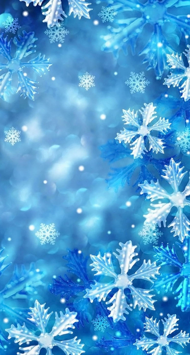 Clipart Images House Blue Snowflakes The Iphone Wallpapers
