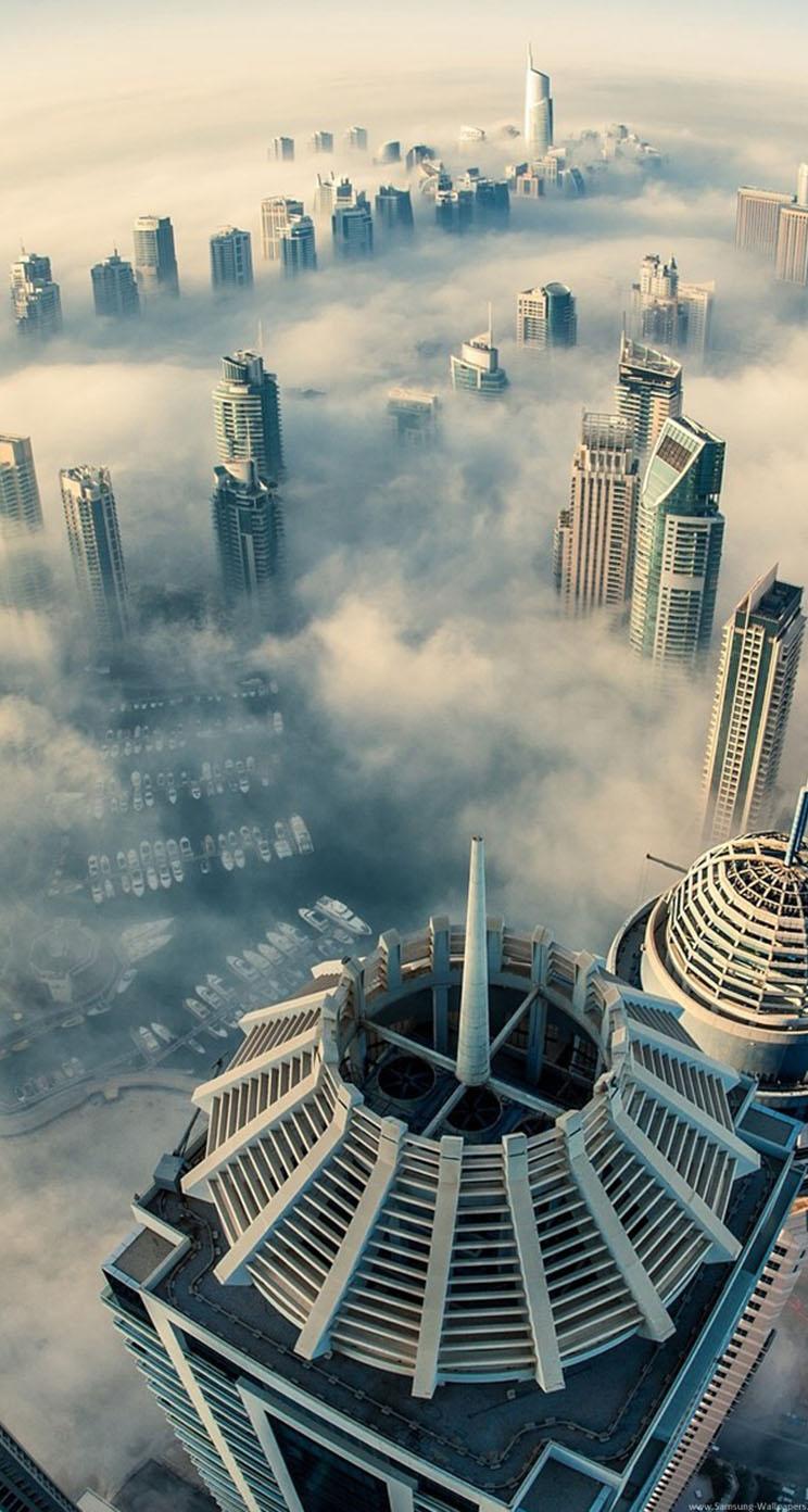 3d Wallpapers Buy Online Dubai Cloud City Landscapes The Iphone Wallpapers