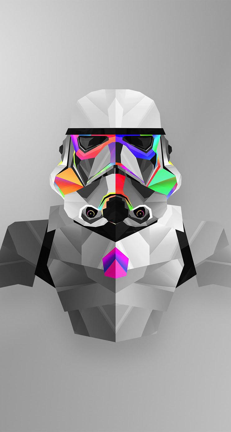 Ultralinx Wallpaper Iphone X Star Wars Stormtrooper Artwork Justin Maller The Iphone