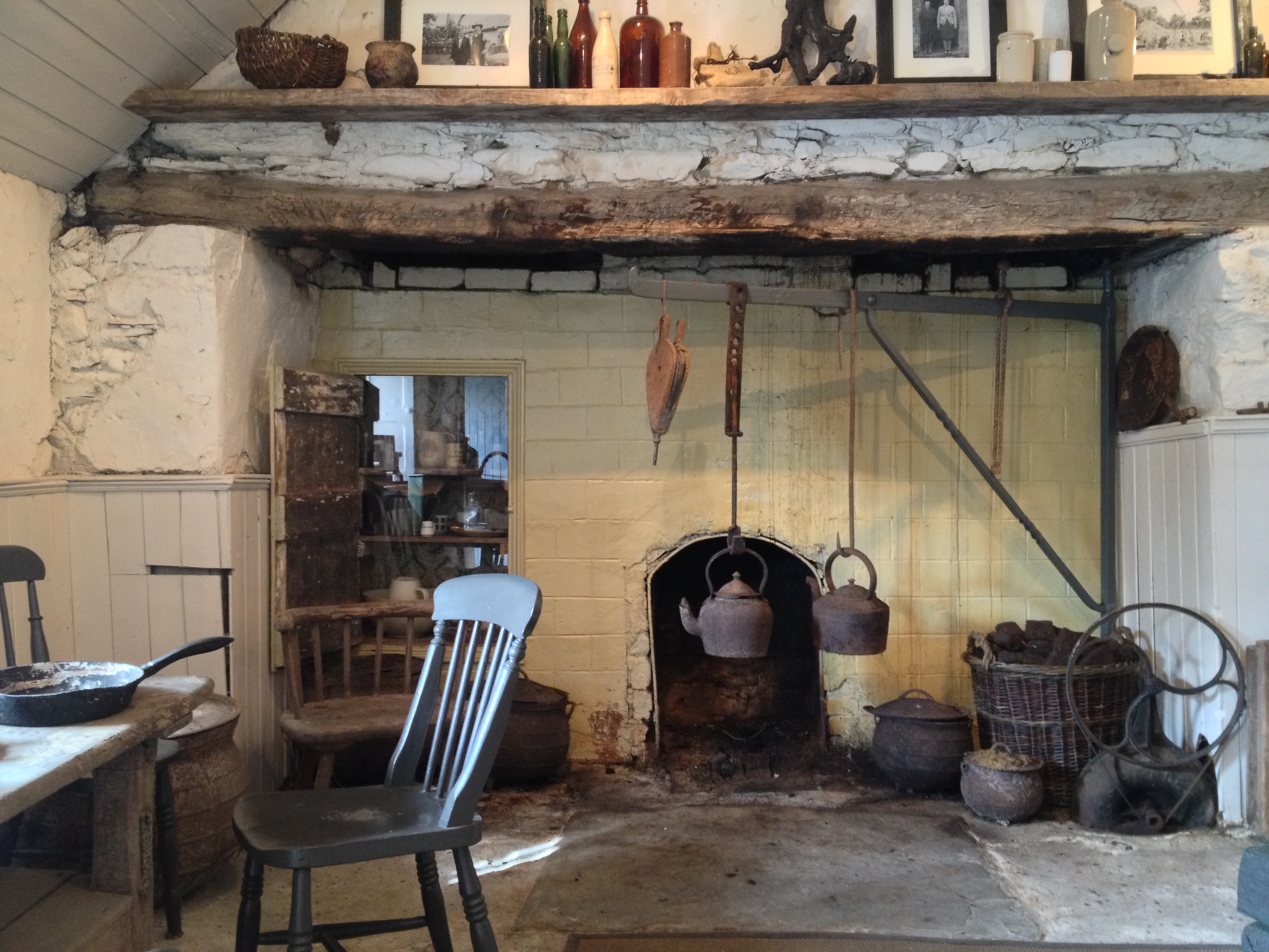 Old Farmhouse Fireplaces Irish Cottage The Irish Aesthete