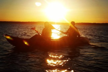 Sunset Kayaking Wexford ireland