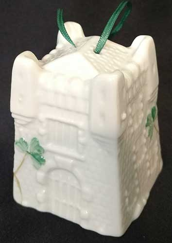 Belleek Christmas Ornament - 7th Annual - Castle