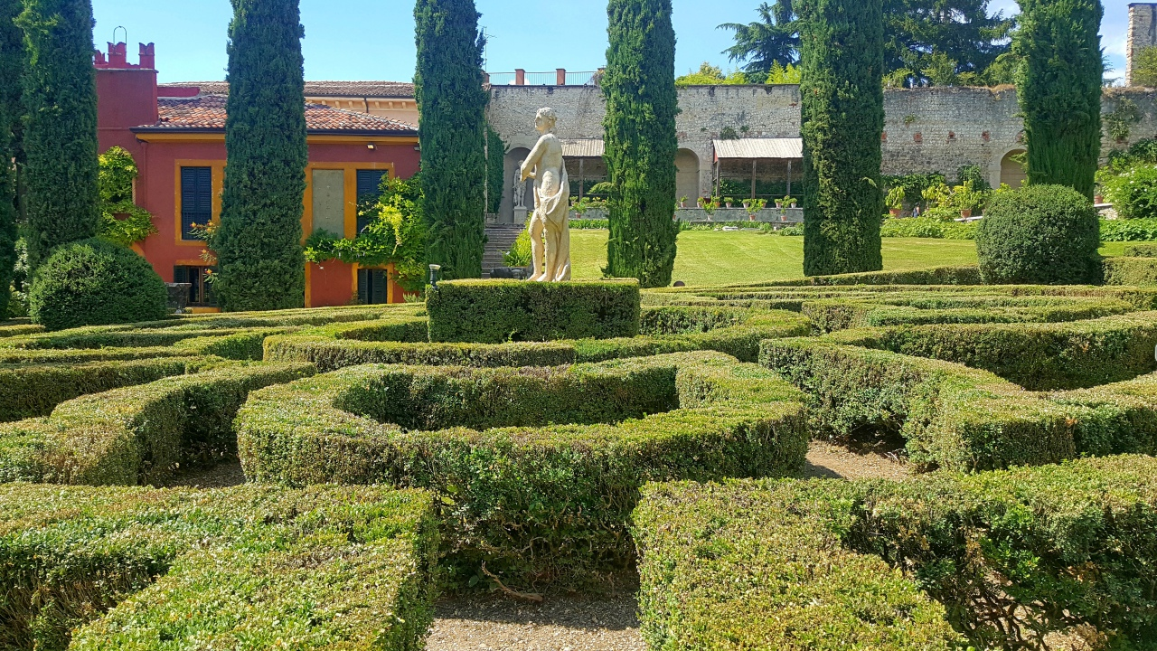 Giardino Italian Giardino Giusti What To See In Verona Gopro Video