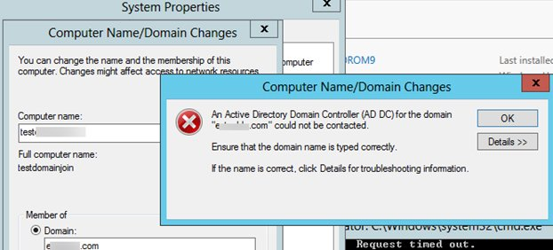Fix Active Directory Domain Controller Could Not Be Contacted