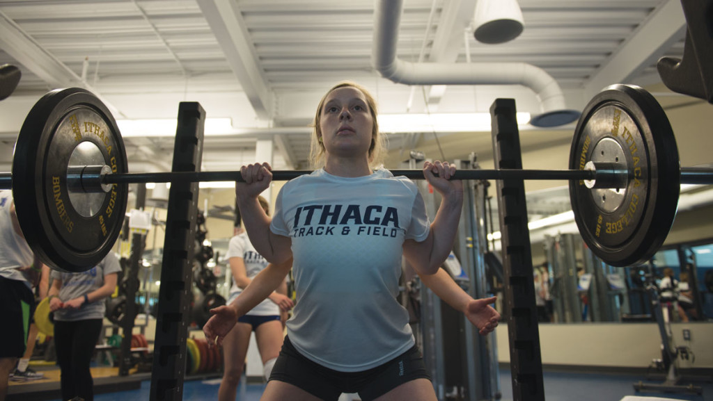 Weight lifting program helps track and field teams excel The Ithacan