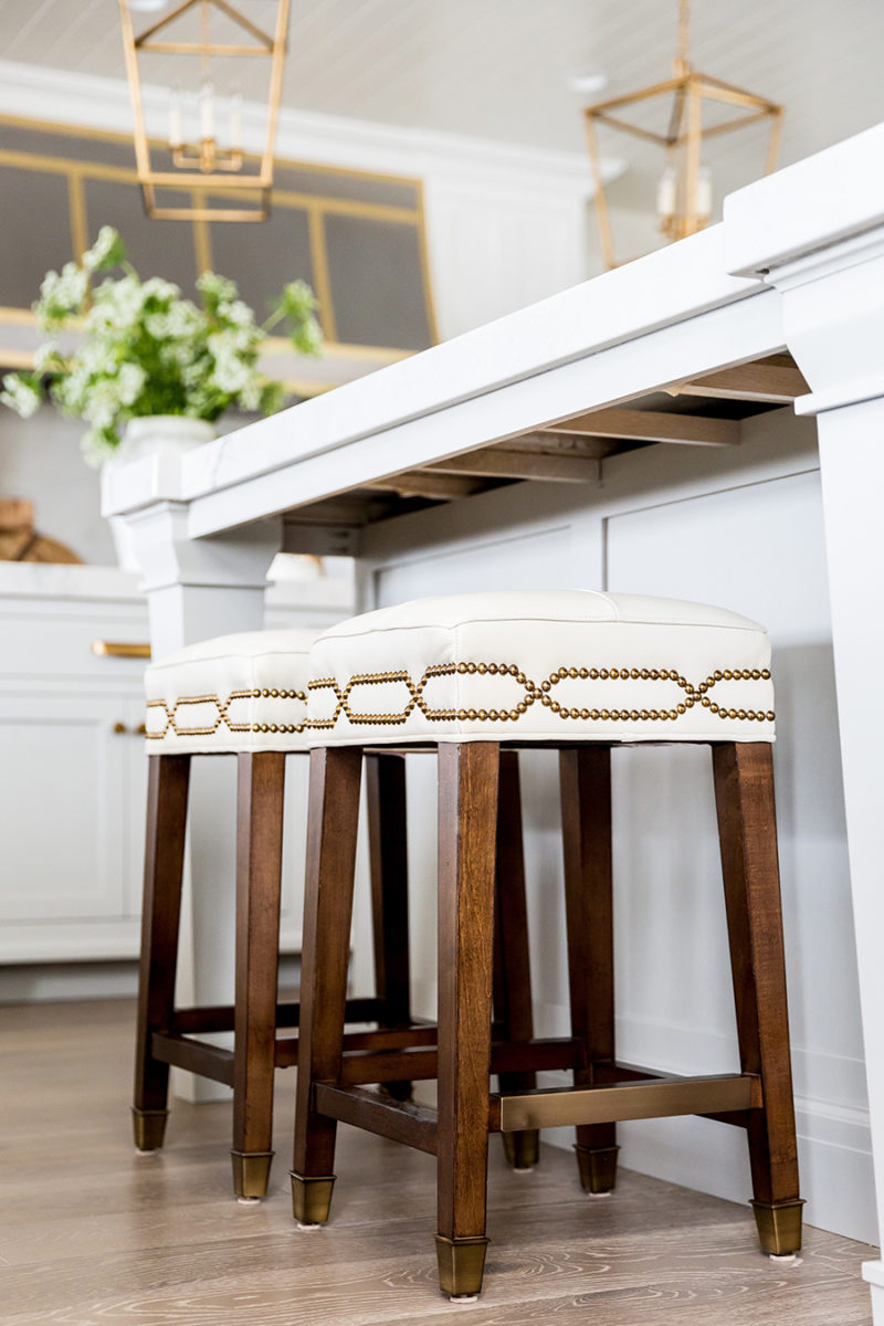 Kitchen Counter And Stools Home Tour Kitchen Reveal Ivory Lane