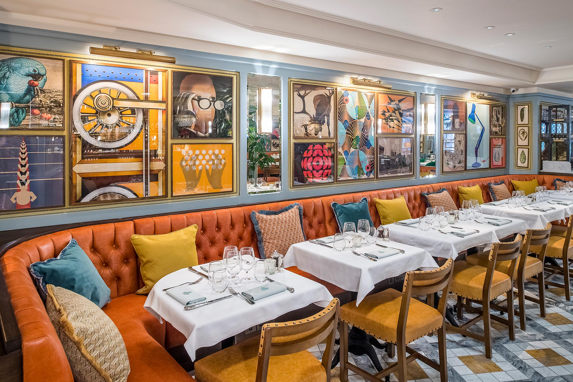 Photo Gallery Of Restaurant Image Gallery The Ivy Cambridge Brasserie