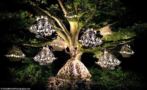 Frejha in the trees