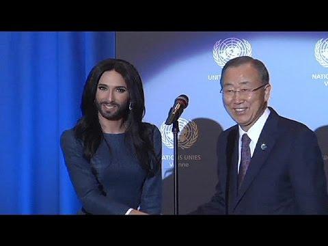 Conchita Wurst, Ban-Ki Moon