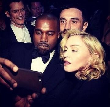 Kanye, Madonna, Riccardo Tisci