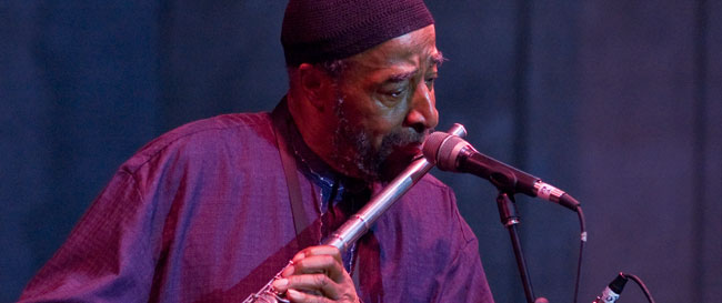Yusef Lateef performing at the 2007 Detorit Jazz Festival - Photo by CEAndersen