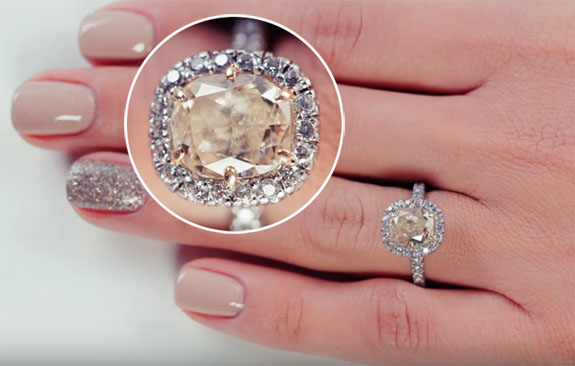 Witness the Evolution of the Engagement Ring 100 Years in 3 Minutes