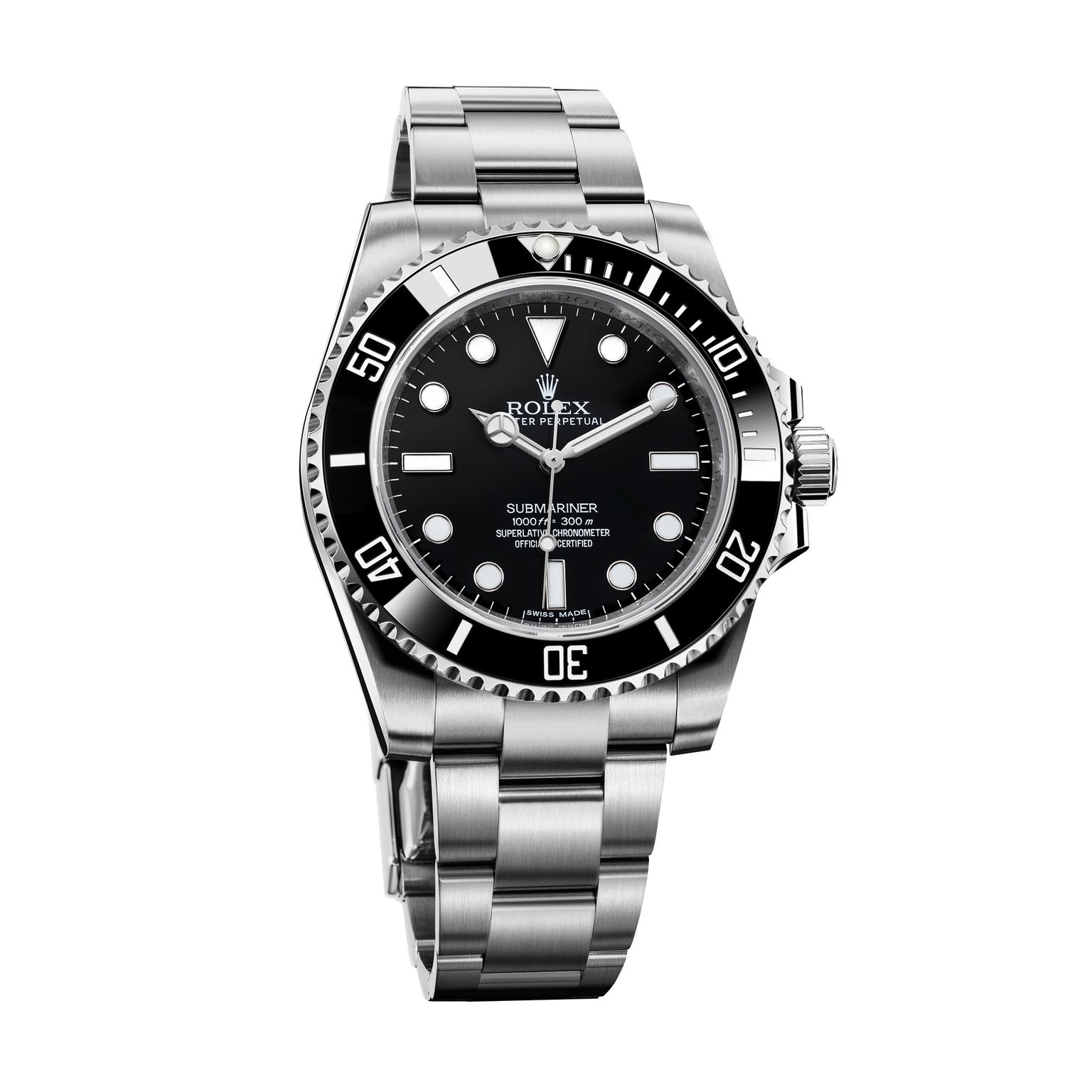 Steel Rolex Oyster Perpetual Submariner 40mm Steel Watch