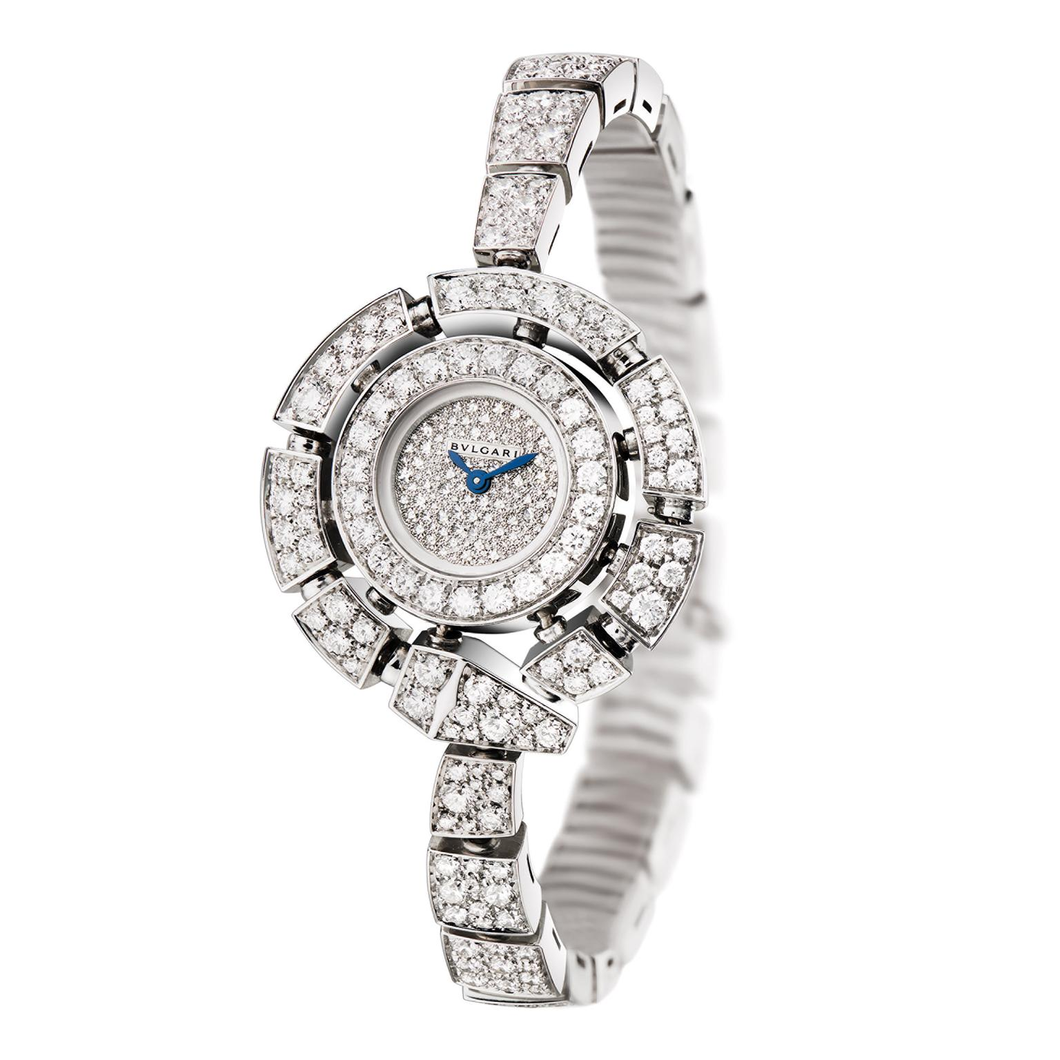 Diamond Watch Return Of Bulgari 39s Serpenti Snake Watches For Women The