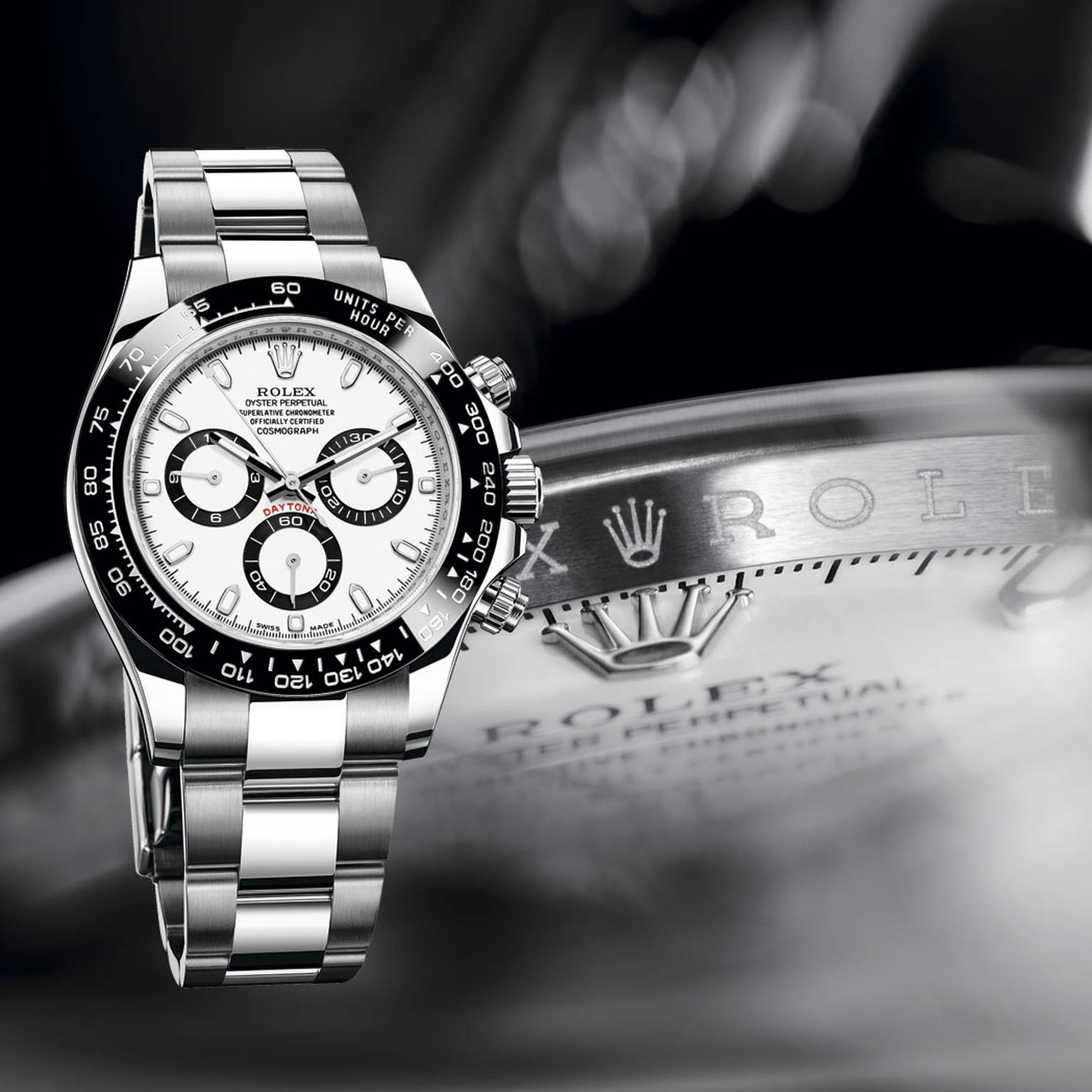 Rolexs Watches Cosmograph Daytona Watch In Stainless Steel