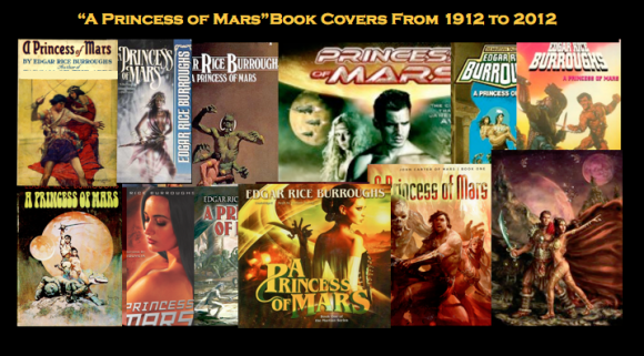 Princess of Mars Book Covers