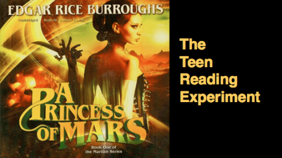 The John Carter Files Experiment Will Todays 10 15 Year Olds React
