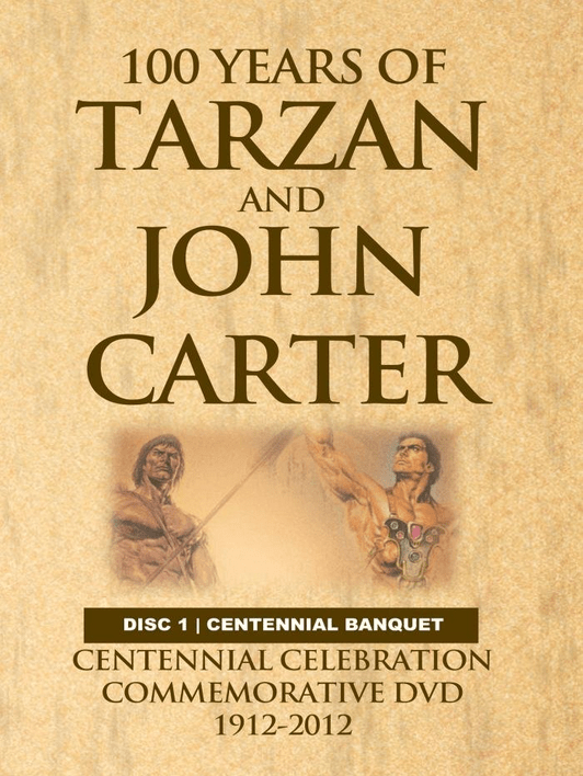 100 Years of Tarzan and John CArter DVD