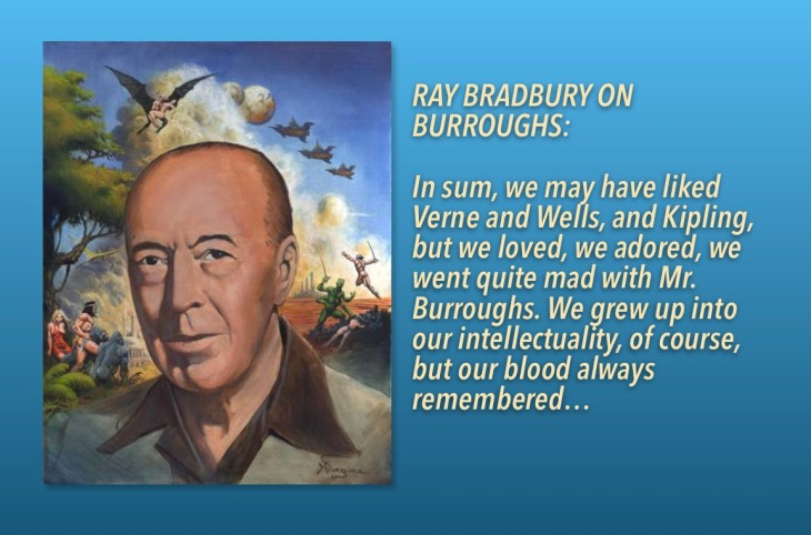 Ray Bradbury on Burroughs