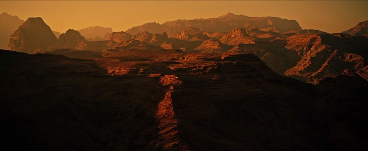 Mars in The Martian
