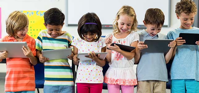 Report 2 in 3 Parents Say Classroom Tech Is Key to Student Futures