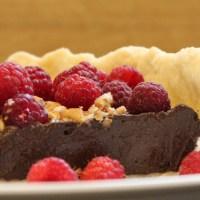 Dark Chocolate Mousse Pie
