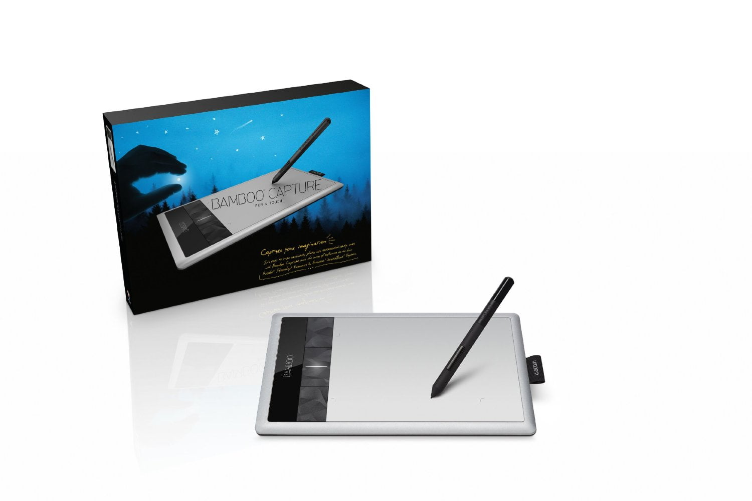 Bamboo Tablet Wacom Bamboo Capture Pen And Touch Tablet Cth470 The