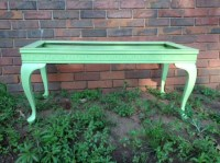 Seafoam Green Coffee Table | TheJunkRescue