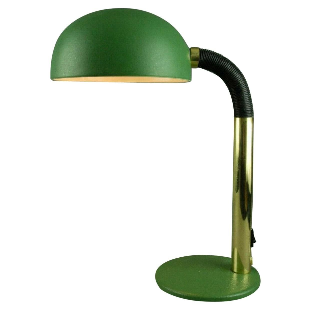 Leuchten Kaiser Green And Brass Metal 1960s Desk Lamp Manufactured By Kaiser Leuchten, Germany - For Sale | The Kairos Collective Uk