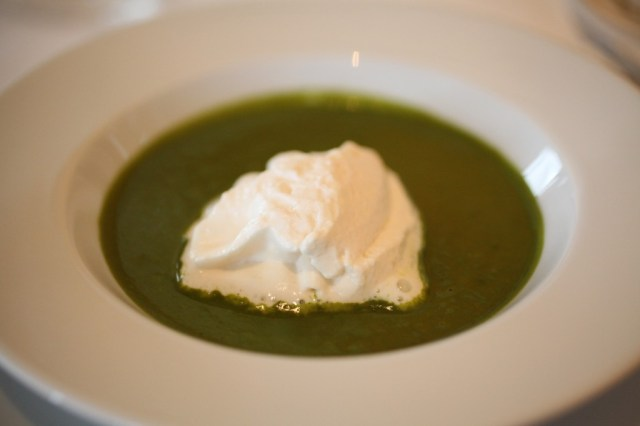 Kale & Courgette soup.