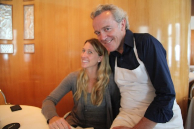Me with Alain Passard.