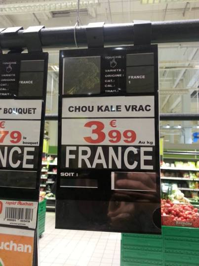 Kale Auchan Lyon