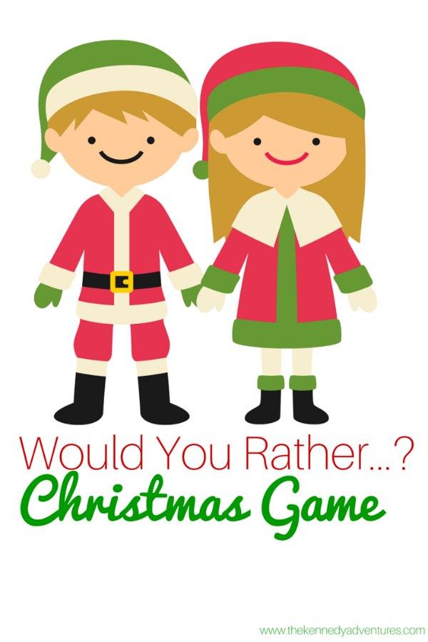 FREE Christmas Printable Game for the Whole Family - The Homeschool