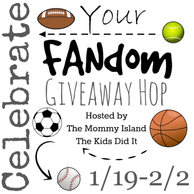 "Bloggers Wanted: ""Celebrate Your Fandom"" Giveaway Hop"