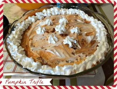 Pumpkin Trifle Recipe (12 Days Of Desserts)