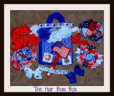 The Hair Bow Box July