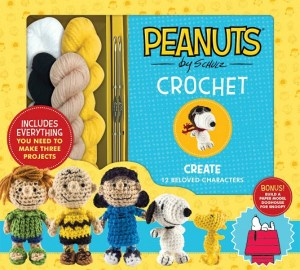 Create Fun Characters With The Peanuts Crochet Book!