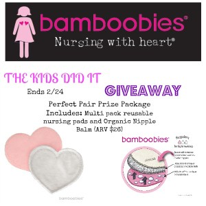 Bamboobies Will Be There From Day One Of Your Nursing Career- Free Pair And A Giveaway!