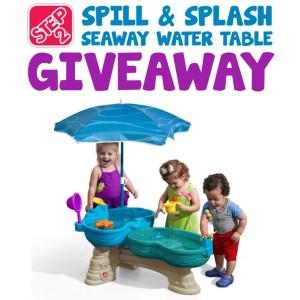 Step2 Spill & Splash Seaway Water Table Giveaway