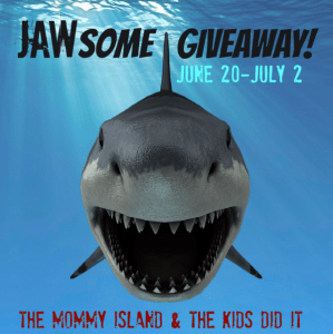 Sharks Are Awesome! Celebrating Shark Week With A JAW-Some Giveaway!