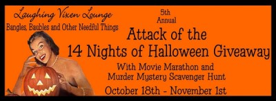Bloggers Wanted: 5th Annual Attack of the 14 Nights of Halloween Giveaway