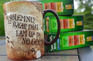 I Solemnly Swear That I Am Up To No Good (Until I Get My Morning Coffee) #BiscuitBreak