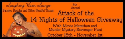 5th Annual 14 Nights Of Halloween Giveaway Event