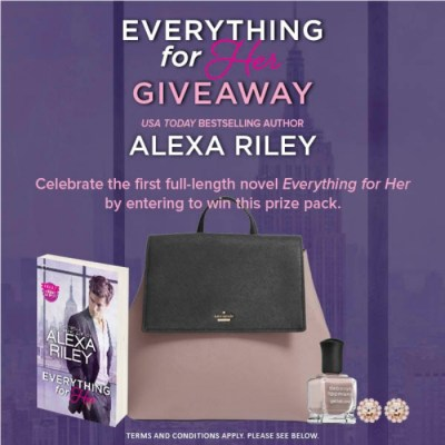 Everything For Her By Alexa Riley Prize Package Giveaway