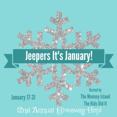 2nd Annual JEEPERS! It's January Blog Hop! First Event of 2017!