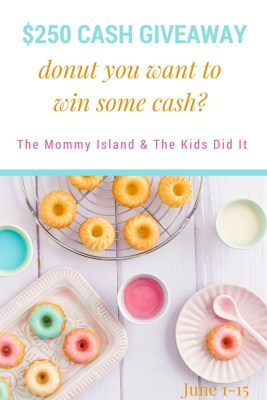 Celebrate National Donut Day With A $250 Cash Giveaway